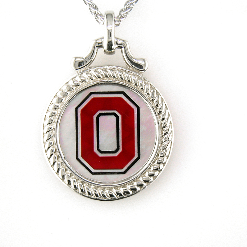 OSU Mother of Pearl Pendant