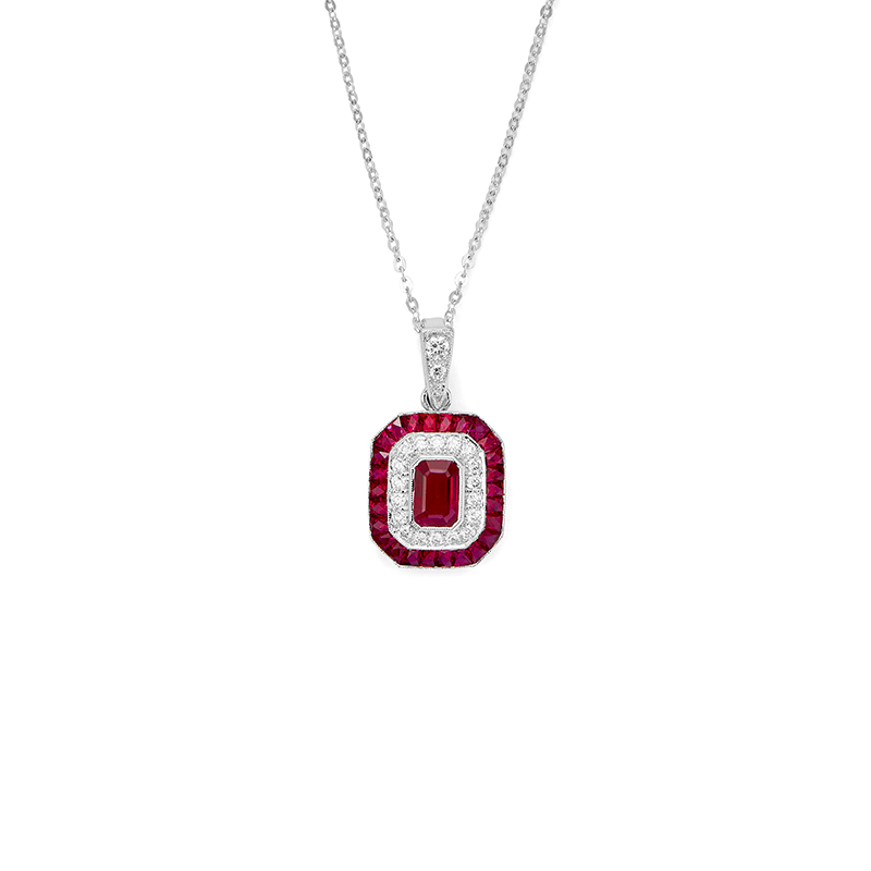 Ohio state leo alfred jewelers art deco quotblock oquot pendant aloadofball Choice Image