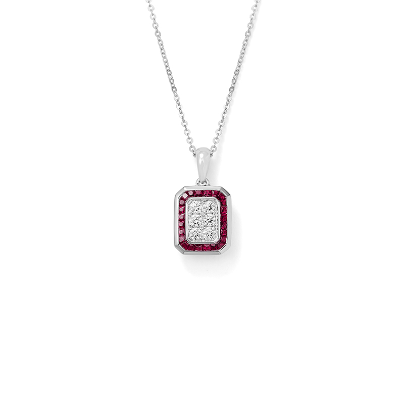 Ohio state leo alfred jewelers modern quotblock oquot pendant aloadofball Choice Image