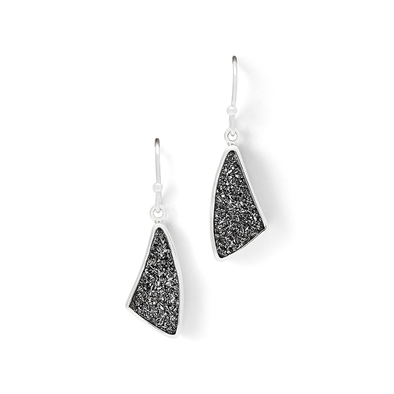 Drusy Earrings