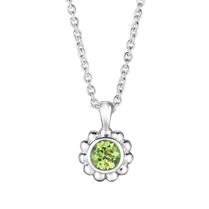 Peridot Beaded Pendant