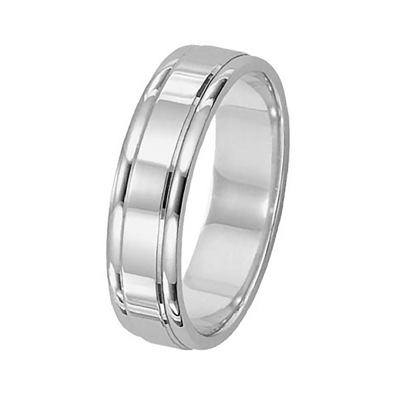 Carved Wedding Band